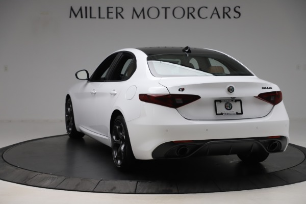 New 2020 Alfa Romeo Giulia Ti Sport Q4 for sale $53,190 at Bentley Greenwich in Greenwich CT 06830 5