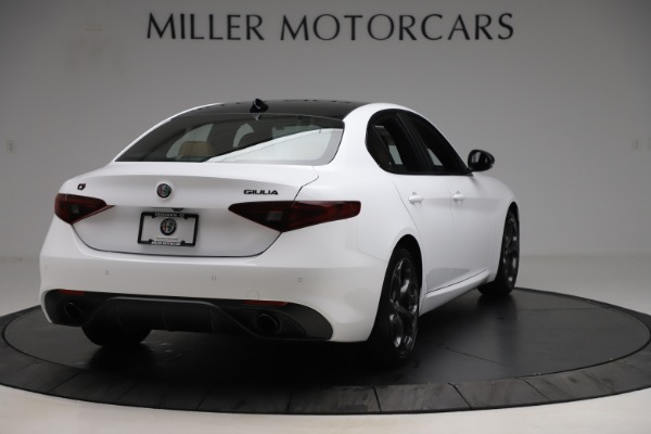 New 2020 Alfa Romeo Giulia Ti Sport Q4 for sale $53,190 at Bentley Greenwich in Greenwich CT 06830 7