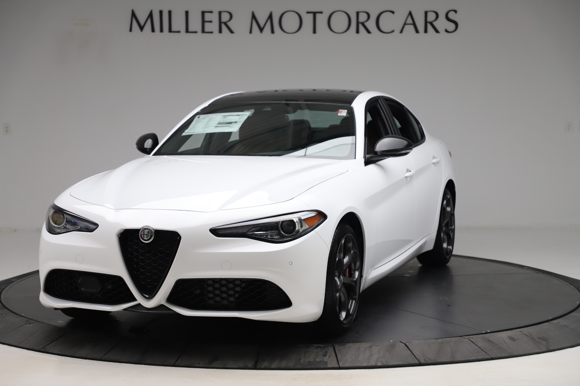 New 2020 Alfa Romeo Giulia Ti Sport Q4 for sale $53,190 at Bentley Greenwich in Greenwich CT 06830 1