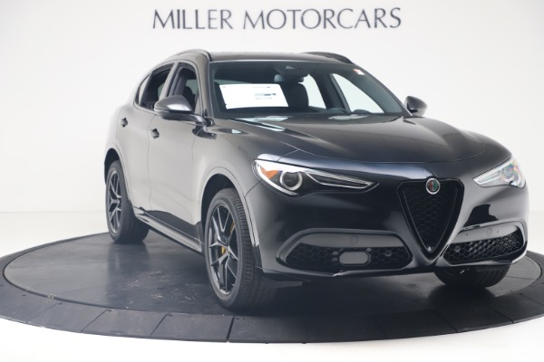 New 2020 Alfa Romeo Stelvio Ti Sport Q4 for sale $57,590 at Bentley Greenwich in Greenwich CT 06830 11