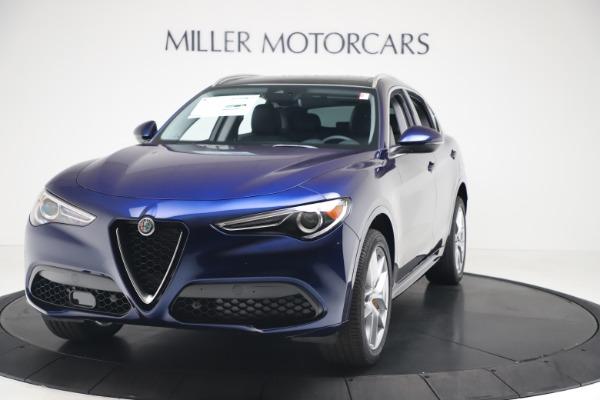 New 2020 Alfa Romeo Stelvio Ti Q4 for sale $54,340 at Bentley Greenwich in Greenwich CT 06830 1