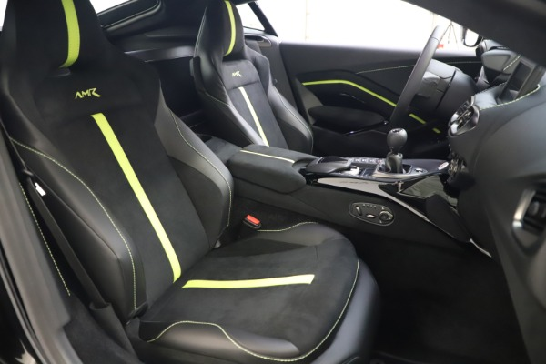 New 2020 Aston Martin Vantage AMR Coupe for sale $191,931 at Bentley Greenwich in Greenwich CT 06830 19