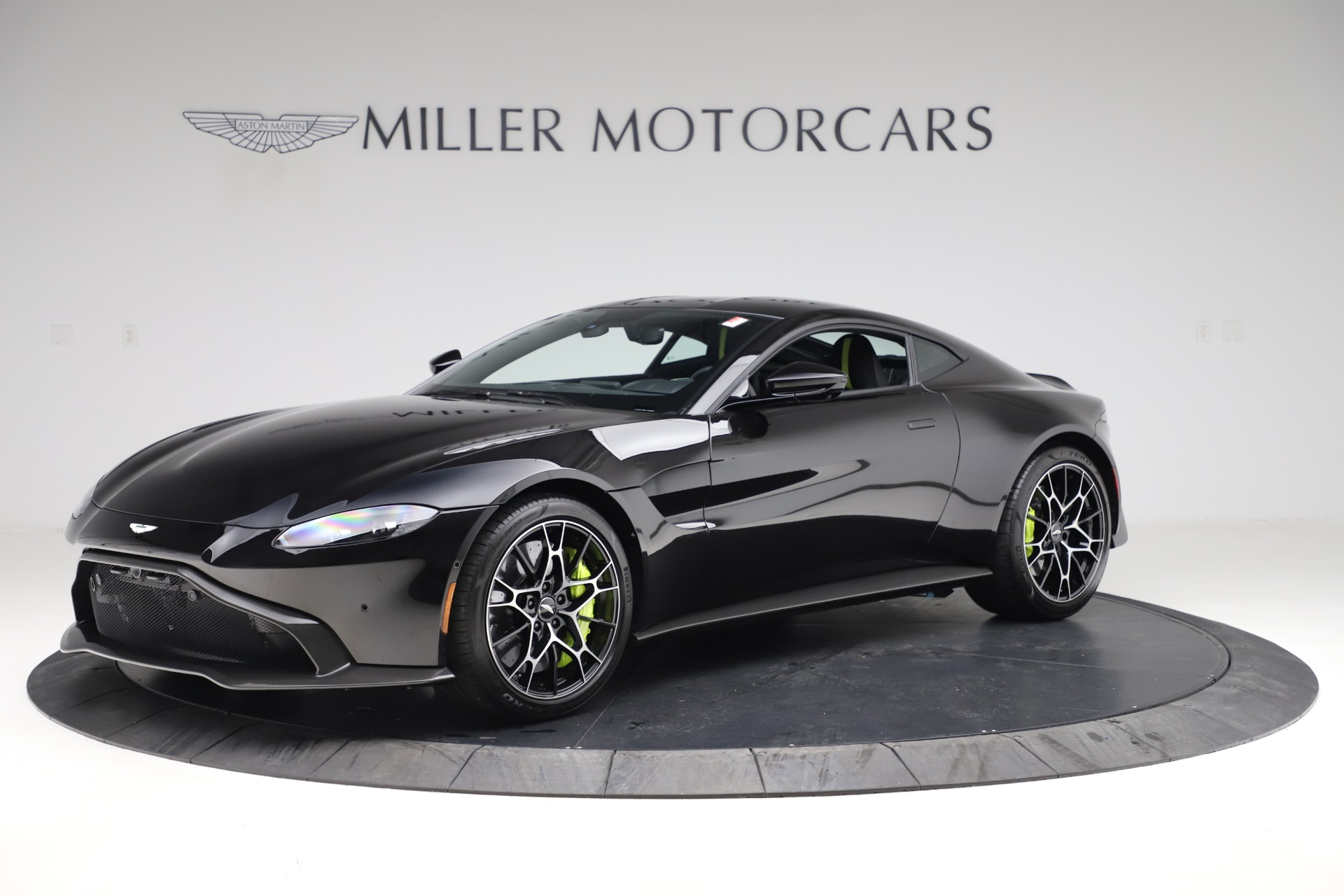 New 2020 Aston Martin Vantage AMR Coupe for sale $191,931 at Bentley Greenwich in Greenwich CT 06830 1