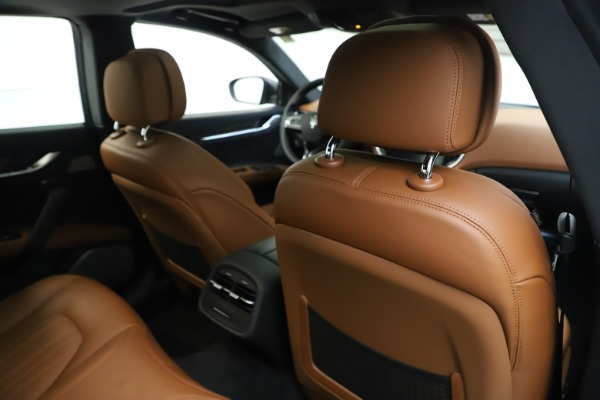 New 2019 Maserati Ghibli S Q4 GranLusso for sale $98,095 at Bentley Greenwich in Greenwich CT 06830 28