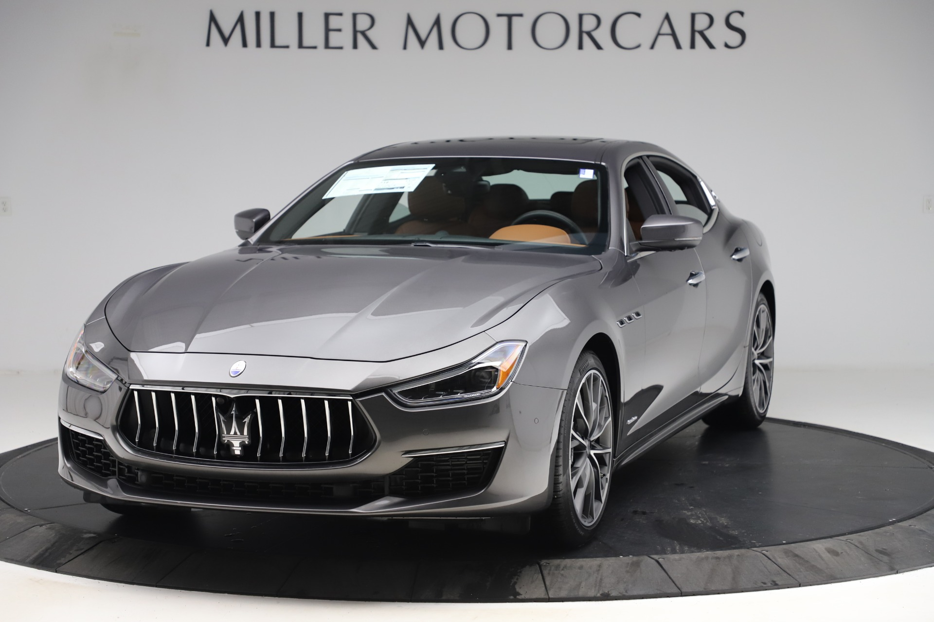 New 2019 Maserati Ghibli S Q4 GranLusso for sale $98,095 at Bentley Greenwich in Greenwich CT 06830 1
