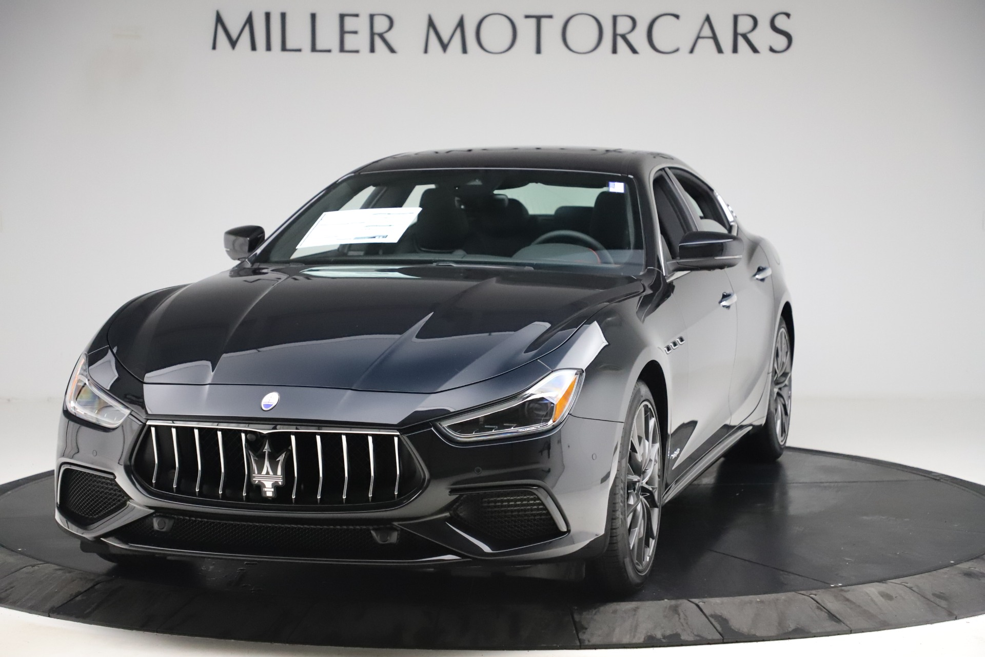 New 2019 Maserati Ghibli S Q4 GranSport for sale $99,905 at Bentley Greenwich in Greenwich CT 06830 1