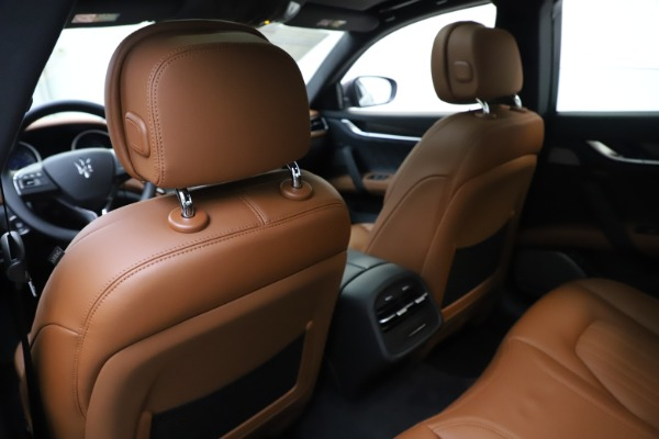 New 2019 Maserati Ghibli S Q4 GranLusso for sale $98,095 at Bentley Greenwich in Greenwich CT 06830 20