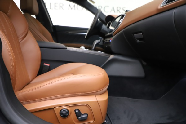 New 2019 Maserati Ghibli S Q4 GranLusso for sale $98,095 at Bentley Greenwich in Greenwich CT 06830 23