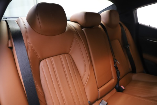 New 2019 Maserati Ghibli S Q4 GranLusso for sale $98,095 at Bentley Greenwich in Greenwich CT 06830 26