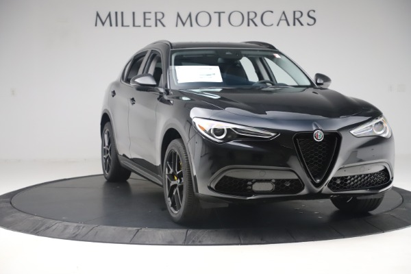 New 2019 Alfa Romeo Stelvio Sport Q4 for sale $53,565 at Bentley Greenwich in Greenwich CT 06830 11