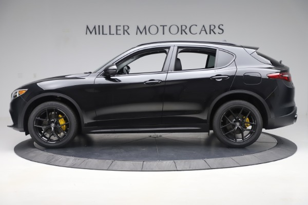 New 2019 Alfa Romeo Stelvio Sport Q4 for sale $53,565 at Bentley Greenwich in Greenwich CT 06830 3