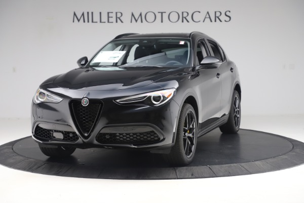 New 2019 Alfa Romeo Stelvio Sport Q4 for sale $53,565 at Bentley Greenwich in Greenwich CT 06830 1