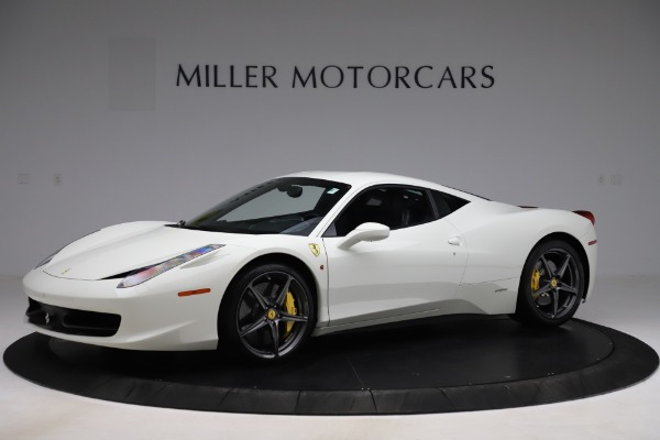 Used 2013 Ferrari 458 Italia for sale $186,900 at Bentley Greenwich in Greenwich CT 06830 2
