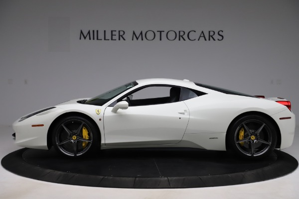 Used 2013 Ferrari 458 Italia for sale $186,900 at Bentley Greenwich in Greenwich CT 06830 3