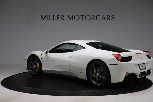 Used 2013 Ferrari 458 Italia for sale $186,900 at Bentley Greenwich in Greenwich CT 06830 4