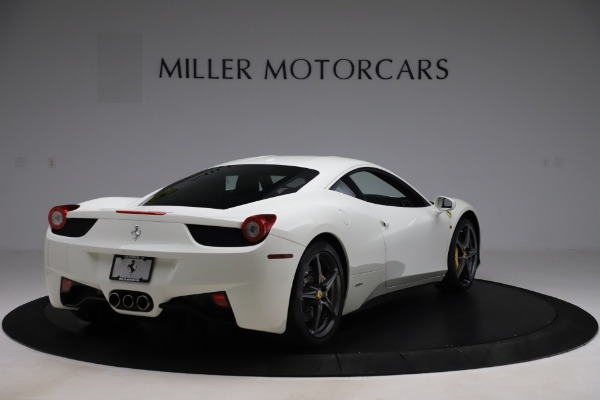 Used 2013 Ferrari 458 Italia for sale $186,900 at Bentley Greenwich in Greenwich CT 06830 7