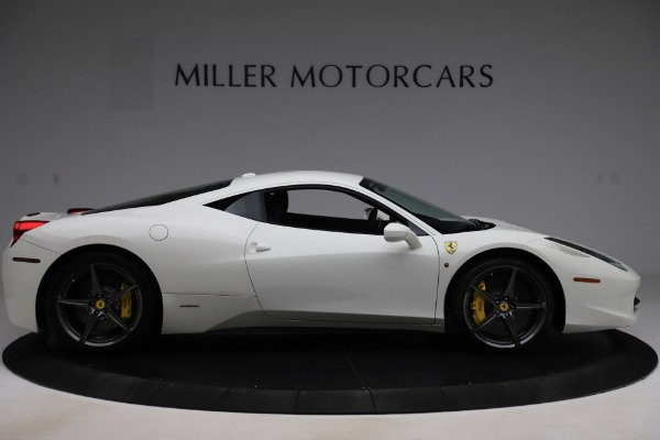 Used 2013 Ferrari 458 Italia for sale $186,900 at Bentley Greenwich in Greenwich CT 06830 9