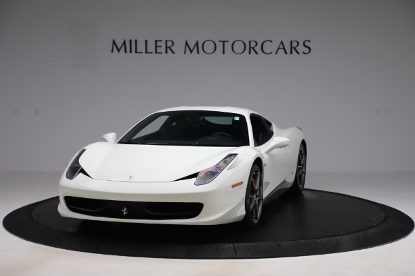 Used 2013 Ferrari 458 Italia for sale $186,900 at Bentley Greenwich in Greenwich CT 06830 1