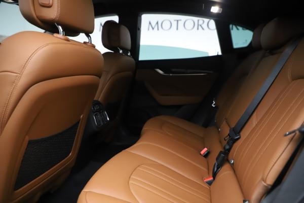 New 2020 Maserati Levante Q4 for sale $79,935 at Bentley Greenwich in Greenwich CT 06830 19