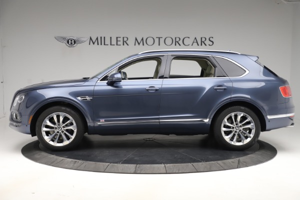 Used 2017 Bentley Bentayga W12 for sale Sold at Bentley Greenwich in Greenwich CT 06830 3