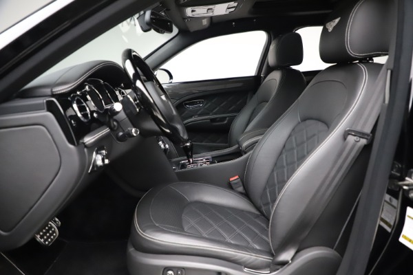 New 2016 Bentley Mulsanne Speed for sale $157,900 at Bentley Greenwich in Greenwich CT 06830 17