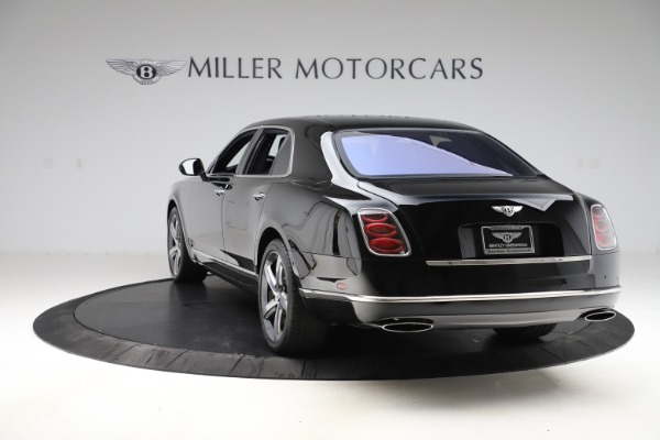 New 2016 Bentley Mulsanne Speed for sale $157,900 at Bentley Greenwich in Greenwich CT 06830 4