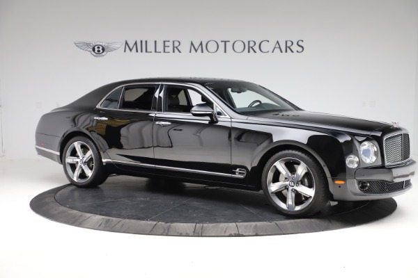 New 2016 Bentley Mulsanne Speed for sale $157,900 at Bentley Greenwich in Greenwich CT 06830 9
