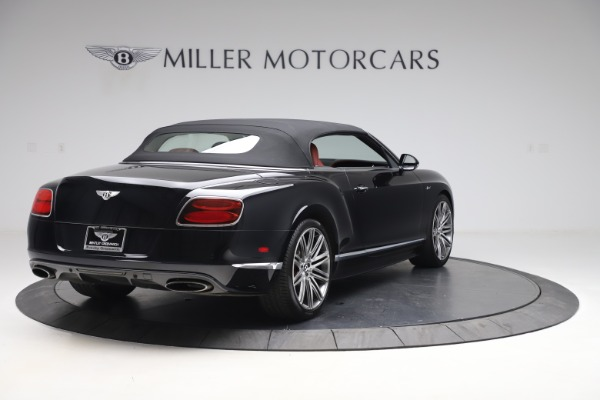 Used 2015 Bentley Continental GTC Speed for sale $129,900 at Bentley Greenwich in Greenwich CT 06830 17