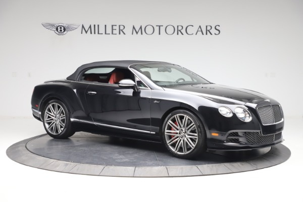 Used 2015 Bentley Continental GTC Speed for sale $129,900 at Bentley Greenwich in Greenwich CT 06830 19
