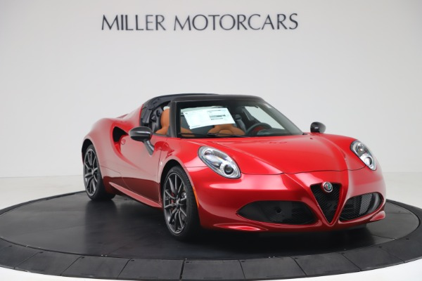 New 2020 Alfa Romeo 4C Spider for sale $82,395 at Bentley Greenwich in Greenwich CT 06830 11