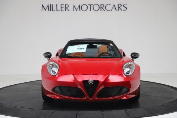 New 2020 Alfa Romeo 4C Spider for sale $82,395 at Bentley Greenwich in Greenwich CT 06830 12