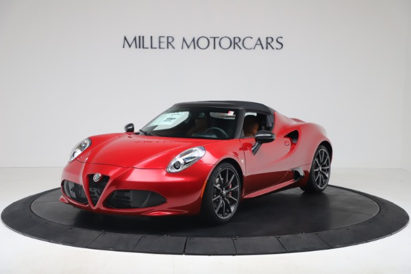 New 2020 Alfa Romeo 4C Spider for sale $82,395 at Bentley Greenwich in Greenwich CT 06830 13