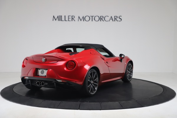 New 2020 Alfa Romeo 4C Spider for sale $82,395 at Bentley Greenwich in Greenwich CT 06830 16