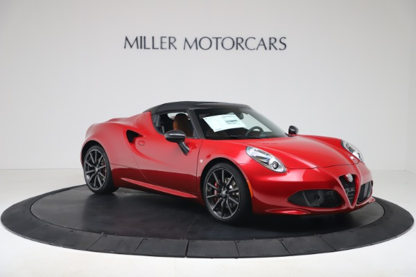 New 2020 Alfa Romeo 4C Spider for sale $82,395 at Bentley Greenwich in Greenwich CT 06830 18