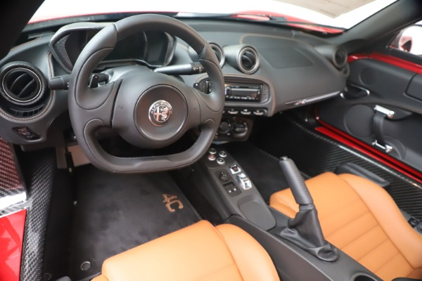 New 2020 Alfa Romeo 4C Spider for sale $82,395 at Bentley Greenwich in Greenwich CT 06830 19