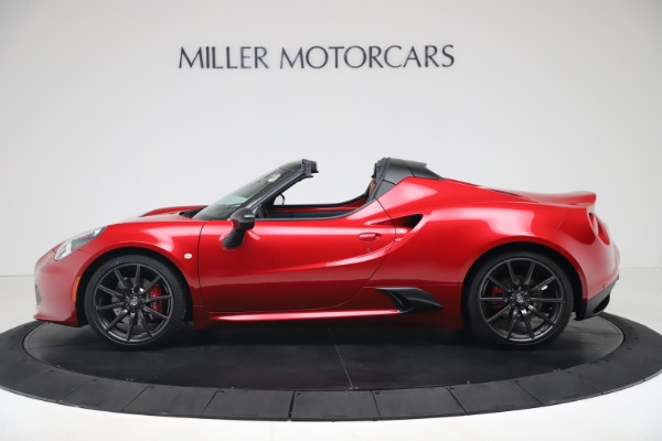 New 2020 Alfa Romeo 4C Spider for sale $82,395 at Bentley Greenwich in Greenwich CT 06830 3