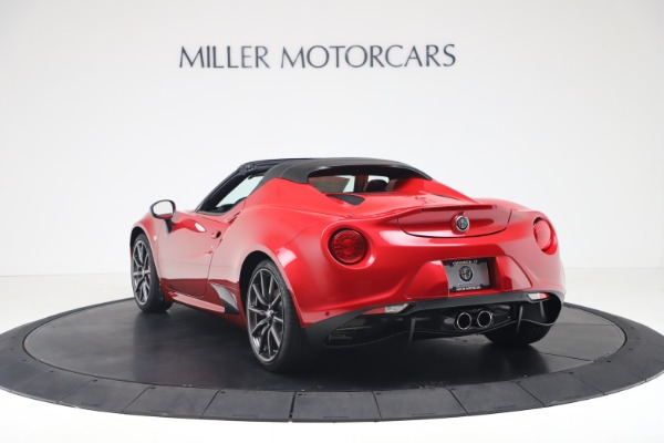 New 2020 Alfa Romeo 4C Spider for sale $82,395 at Bentley Greenwich in Greenwich CT 06830 5