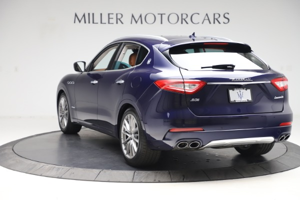 New 2020 Maserati Levante S Q4 GranLusso for sale $96,785 at Bentley Greenwich in Greenwich CT 06830 5