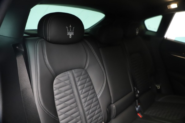 New 2020 Maserati Levante S Q4 GranSport for sale $106,585 at Bentley Greenwich in Greenwich CT 06830 26