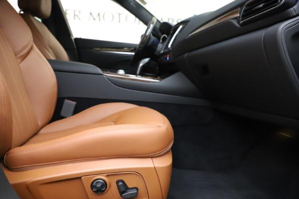 New 2020 Maserati Levante Q4 GranLusso for sale $86,935 at Bentley Greenwich in Greenwich CT 06830 23