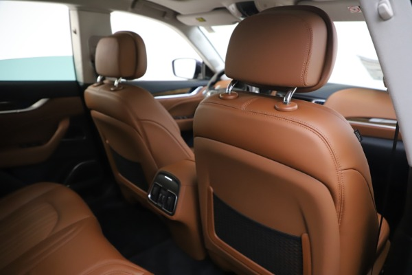 New 2020 Maserati Levante Q4 GranLusso for sale $87,335 at Bentley Greenwich in Greenwich CT 06830 28