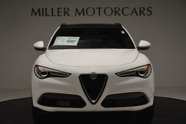 New 2019 Alfa Romeo Stelvio Ti Sport Q4 for sale $54,340 at Bentley Greenwich in Greenwich CT 06830 12
