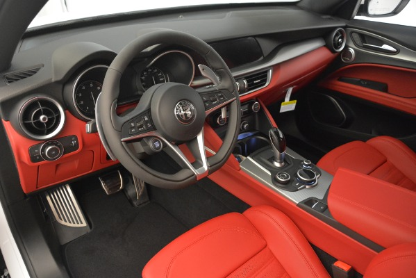 New 2019 Alfa Romeo Stelvio Ti Sport Q4 for sale $54,340 at Bentley Greenwich in Greenwich CT 06830 13
