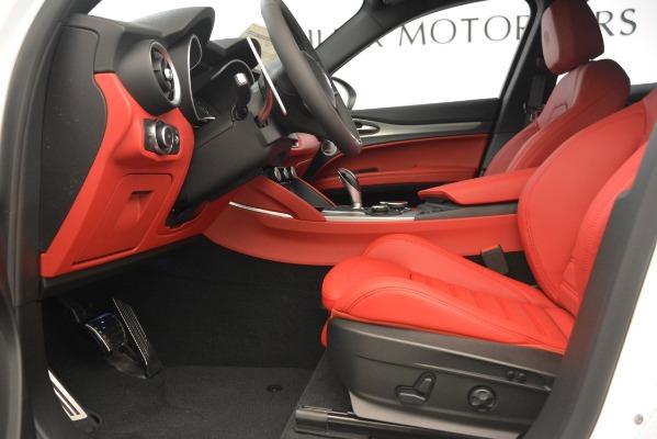 New 2019 Alfa Romeo Stelvio Ti Sport Q4 for sale $54,340 at Bentley Greenwich in Greenwich CT 06830 14