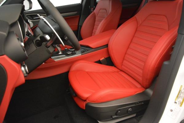 New 2019 Alfa Romeo Stelvio Ti Sport Q4 for sale $54,340 at Bentley Greenwich in Greenwich CT 06830 15