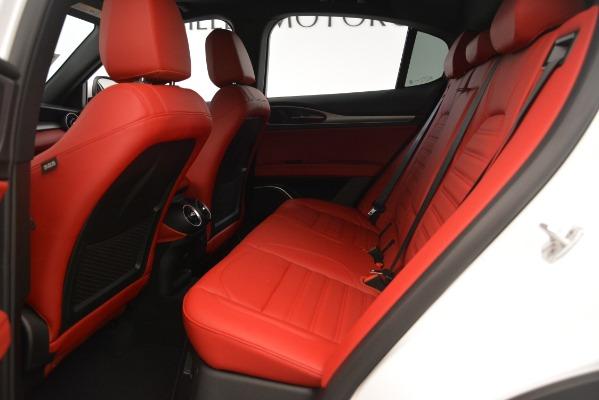New 2019 Alfa Romeo Stelvio Ti Sport Q4 for sale $54,340 at Bentley Greenwich in Greenwich CT 06830 19
