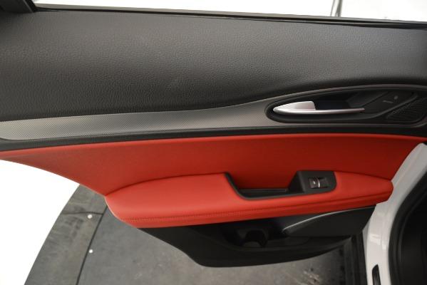 New 2019 Alfa Romeo Stelvio Ti Sport Q4 for sale $54,340 at Bentley Greenwich in Greenwich CT 06830 21