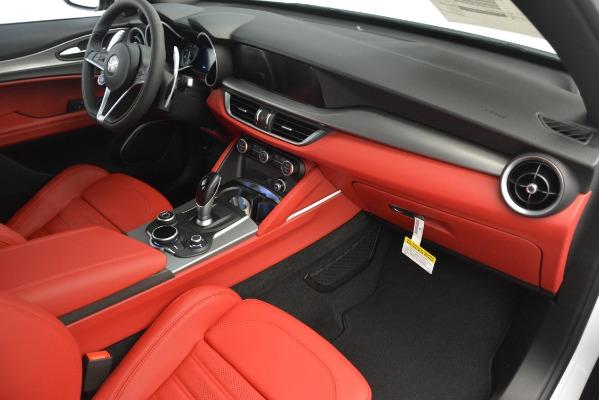 New 2019 Alfa Romeo Stelvio Ti Sport Q4 for sale $54,340 at Bentley Greenwich in Greenwich CT 06830 22