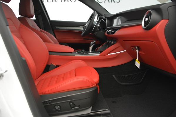 New 2019 Alfa Romeo Stelvio Ti Sport Q4 for sale $54,340 at Bentley Greenwich in Greenwich CT 06830 23
