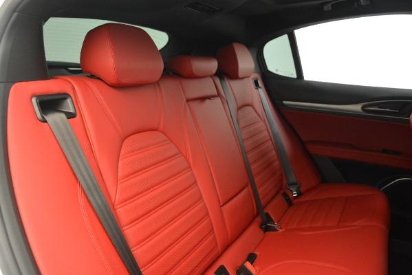 New 2019 Alfa Romeo Stelvio Ti Sport Q4 for sale $54,340 at Bentley Greenwich in Greenwich CT 06830 26